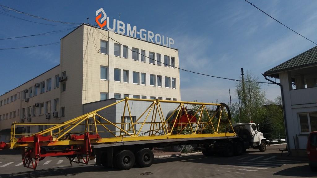 Грузовой полуприцеп UBM-Group