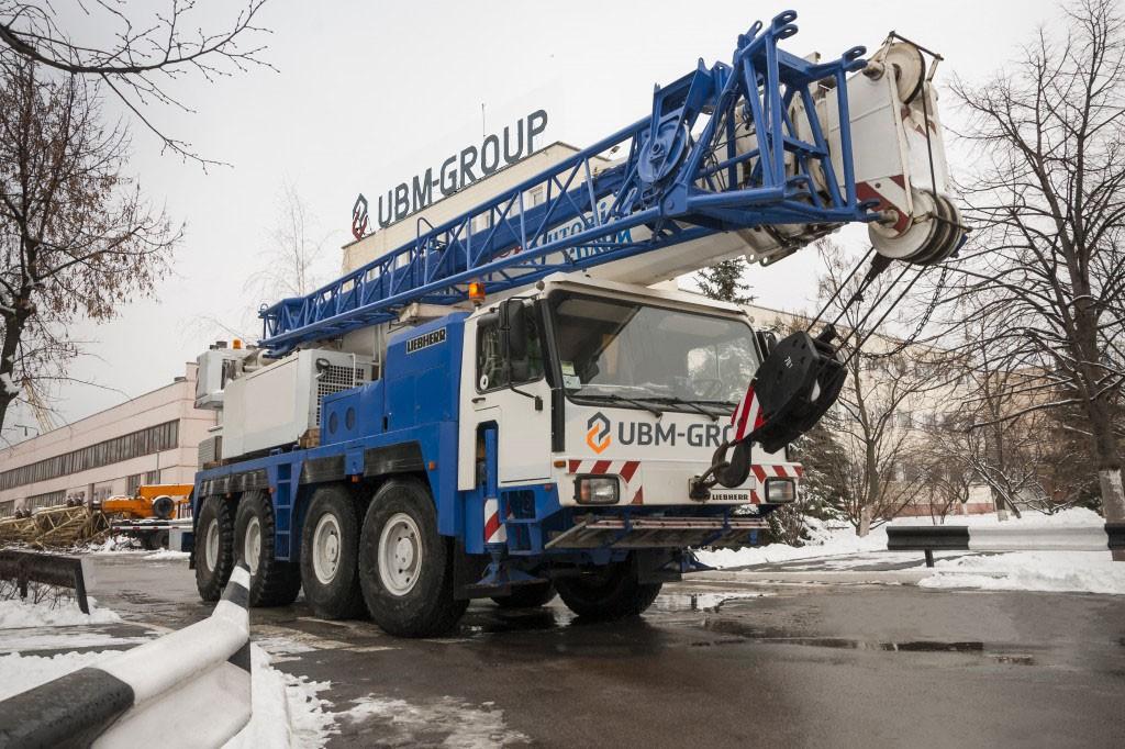 Автокран Liebherr UBM-Group
