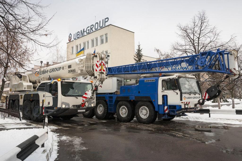 Автокран Demag и Liebherr UBM-Group