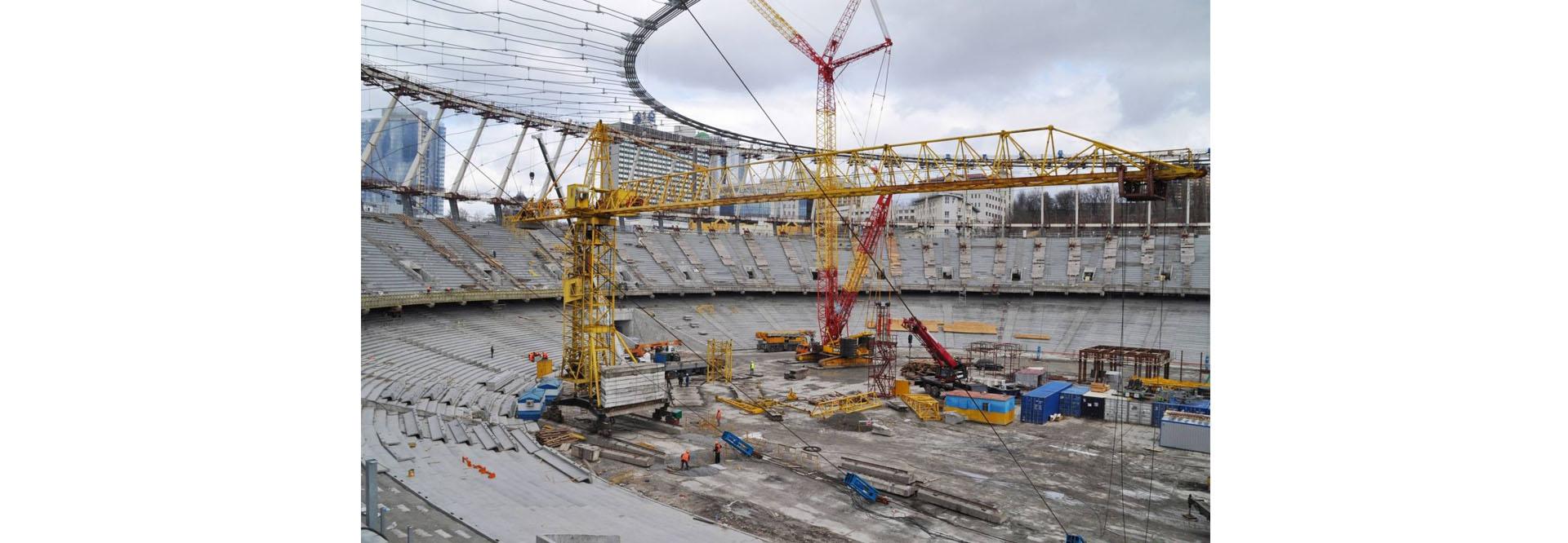 Строительство стадиона УБМ-Групп