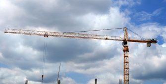 Строительный башенный кран